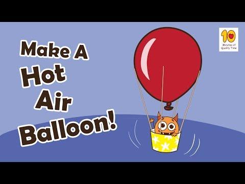 Fun Crafts for Kids - Hot Air Balloon