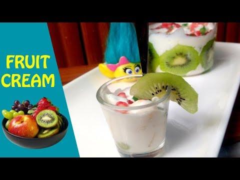 Fruit Cream Recipe - फ़्रूट क्रीम बनाना सीखे