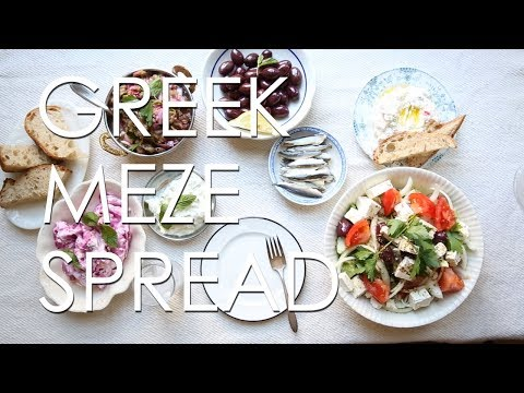 The Ultimate Greek Meze Spread