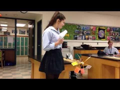 Science Students Build Wind Turbines