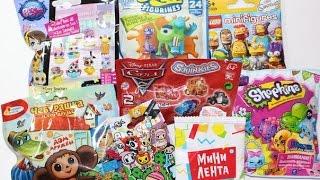 Сюрпризы в пакетиках №13*2. ТОКИДОКИ, LEGO, Shopkins и др.