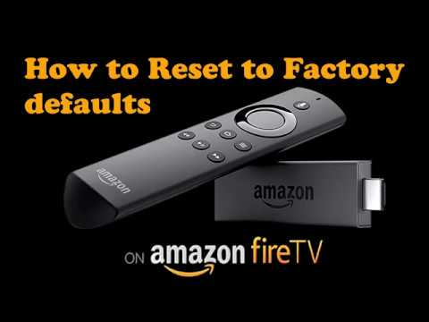How to Reset, Erase your Amazon Firestick to Factory Defaults