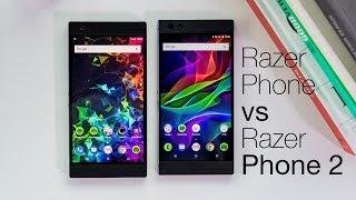 Razer Phone vs Razer Phone 2
