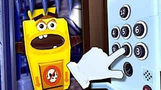 Strange Elevator Simulator! - Floor Plan VR Gameplay