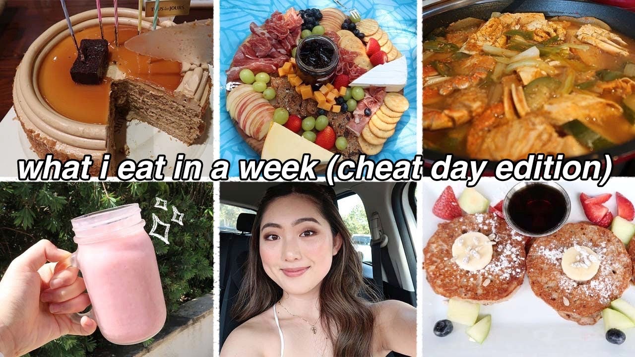 CHEAT DAY EVERYDAY | What I Eat in a Week (Realistic+Intuitive Eating) | What I Do After Cheat Day