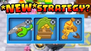 Trying A NEW Strategy! CRAZY Good! - Bloons TD Battles