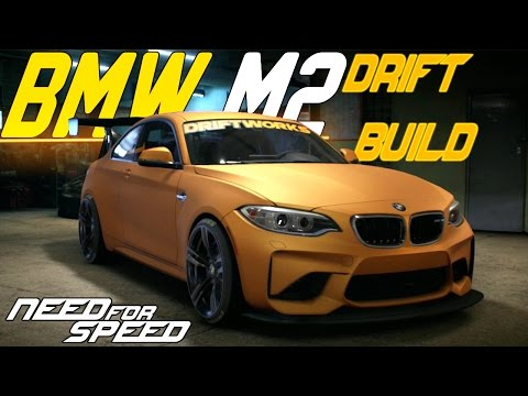 Need For Speed 2015 : BMW M2 CUSTOMIZING, DRIFT BUILD & POLICE CHASE!