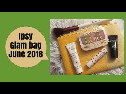 Ipsy Glam Bag -June 2018 PLUS Broadway Minute