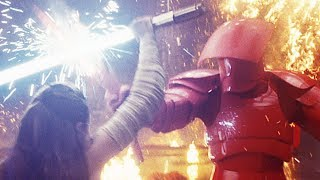 Star Wars 8: The Last Jedi - Throne Room Battle | official clip (2018)
