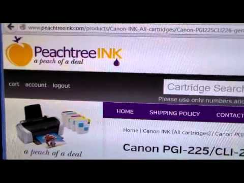 Cheapest Canon printer ink for MG8120 printers at www.peachtreeink.com