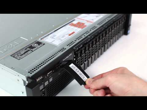 PowerEdge R720: Express Service Tag