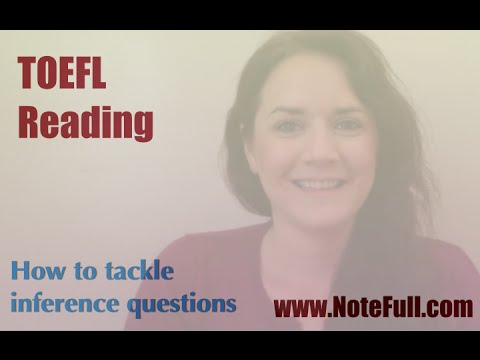 How to tackle inference questions