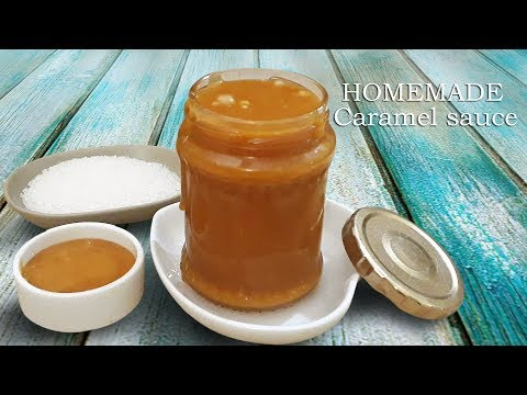 Easy Caramel Sauce Recipe | Caramel Sauce Recipe | How to Make Caramel Sauce |Homemade Caramel Sauce