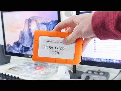 Scratch Disks for Video Editing - G-Drive Giveaway