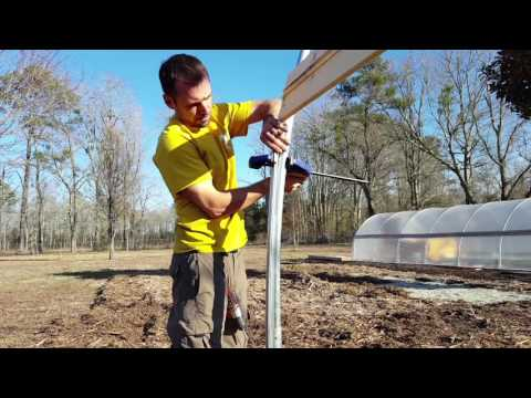 DIY Greenhouse - Building A Hoop House by Bootstrap Farmer