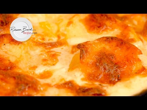 Creamy Scalloped Potatoes Recipe for a Dinner Party, Large Economic Batch