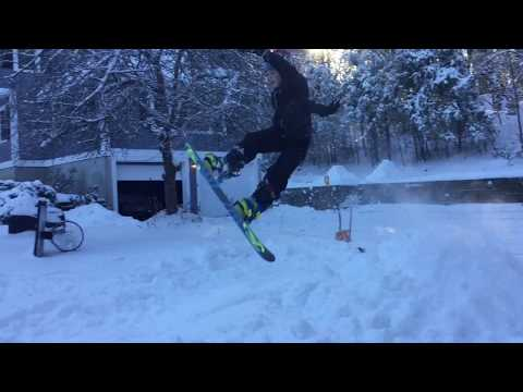 Huge Air On Snowboards! My 100th Video