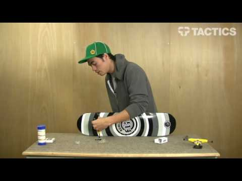 How to Build / Assemble a Skateboard - Tactics.com