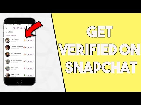 How To Get Verified On Snapchat (Get A Verified Snapchat Account)