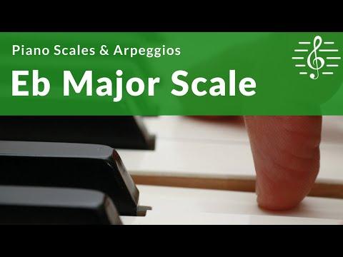 Grade 4 Piano Scales & Arpeggios - Eb Major Scale