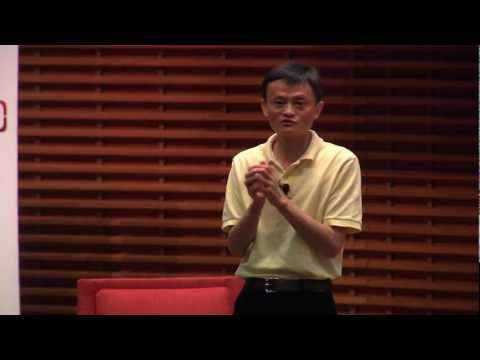 watch Alibaba's Ma Reflects On 12-Year Journey at China 2.0 Conference