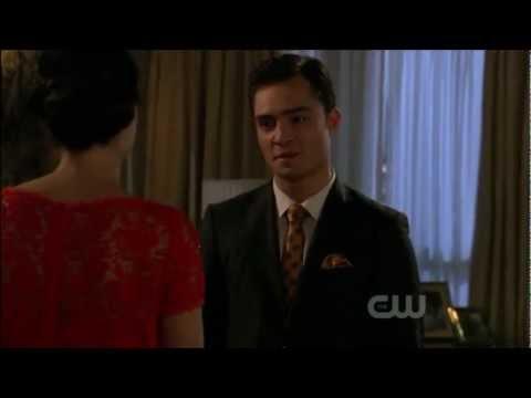 Chuck & Blair I'm sorry for everything scene Gossip Girl 5x06
