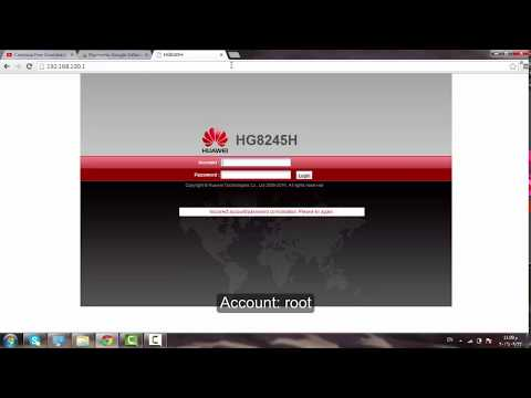 How To Change Wi-fi Password And Username HUAWEI-HG8245H