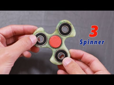 3 Awesome Life Hacks or Toys. FIDGET SPINNER