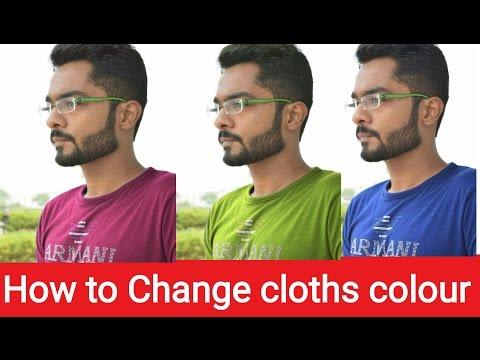 How to change Dress Color in Mobile phone  कपड़ो का रंग कैसे बदले   PicsArt Editing Tutorial