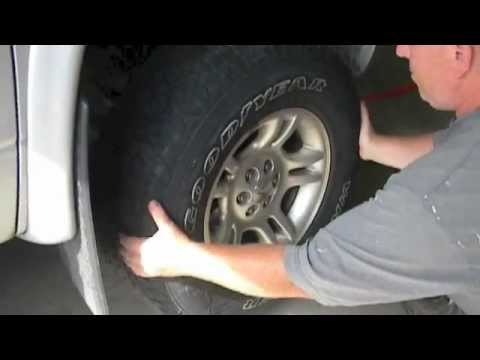 How to install a front wheel bearing on a Dodge Dakota (part 1 of 3)