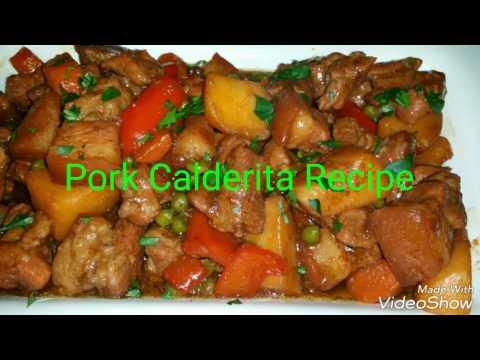 Pork Caldereta Recipe