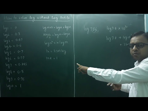 Chemistry class 12( how to solve log and antilog without log table) physical chemistry calculations
