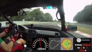 Nurburgring Nordschleife, Honda CRX and an angry driver - 8:32 -