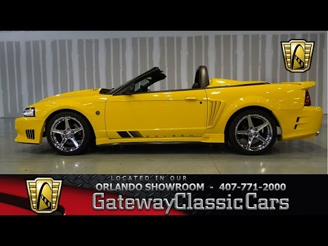 1999 Ford Mustang Saleen Tribute Gateway Classic Cars #373