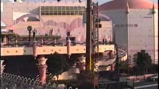 オープン直前のサンリオピューロランド 1990年12月