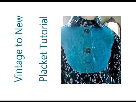 Placket Tutorial - Sewing Skill Builder