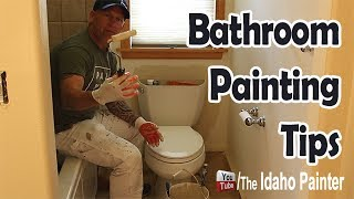 How to paint behind a toilet.  Paint Behind A TV.