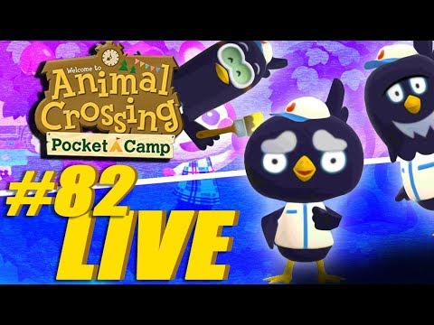 Hang out, chillax etc - Animal Crossing: Pocket Camp Live Stream
