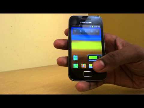 How To Take A Snapshot In Samsung ACE Mobile Phone (How To Take A Photo In Samsung Mobile Phone)