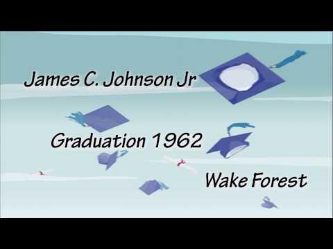Wake Forrest - Law School Graduation 1962