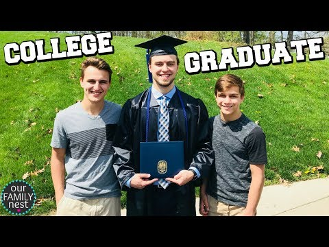 COLLEGE GRADUATION DAY! WE ARE SO PROUD!