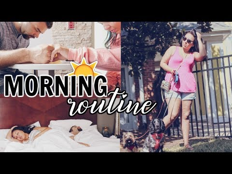 MY TRAVEL MORNING ROUTINE 2018 | COUPLES SUMMER MORNING ROUTINE WHEN TRAVELING | Page Danielle
