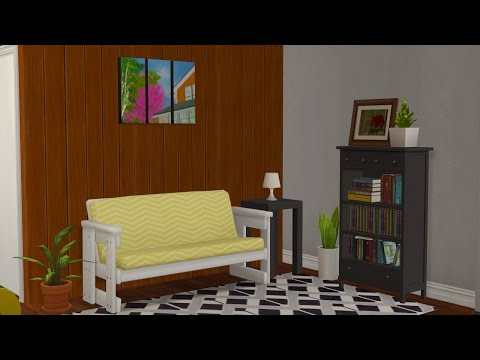 Sims 2 - Decorating an apartment