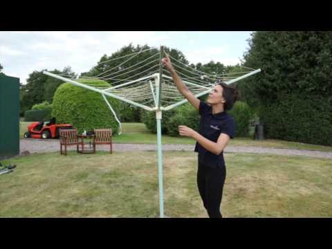 How to untangle a Rotary Washing Line