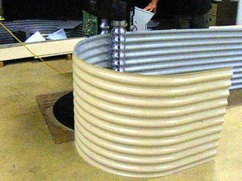 Shaw Bend CNC Corrugated Curving Rolls