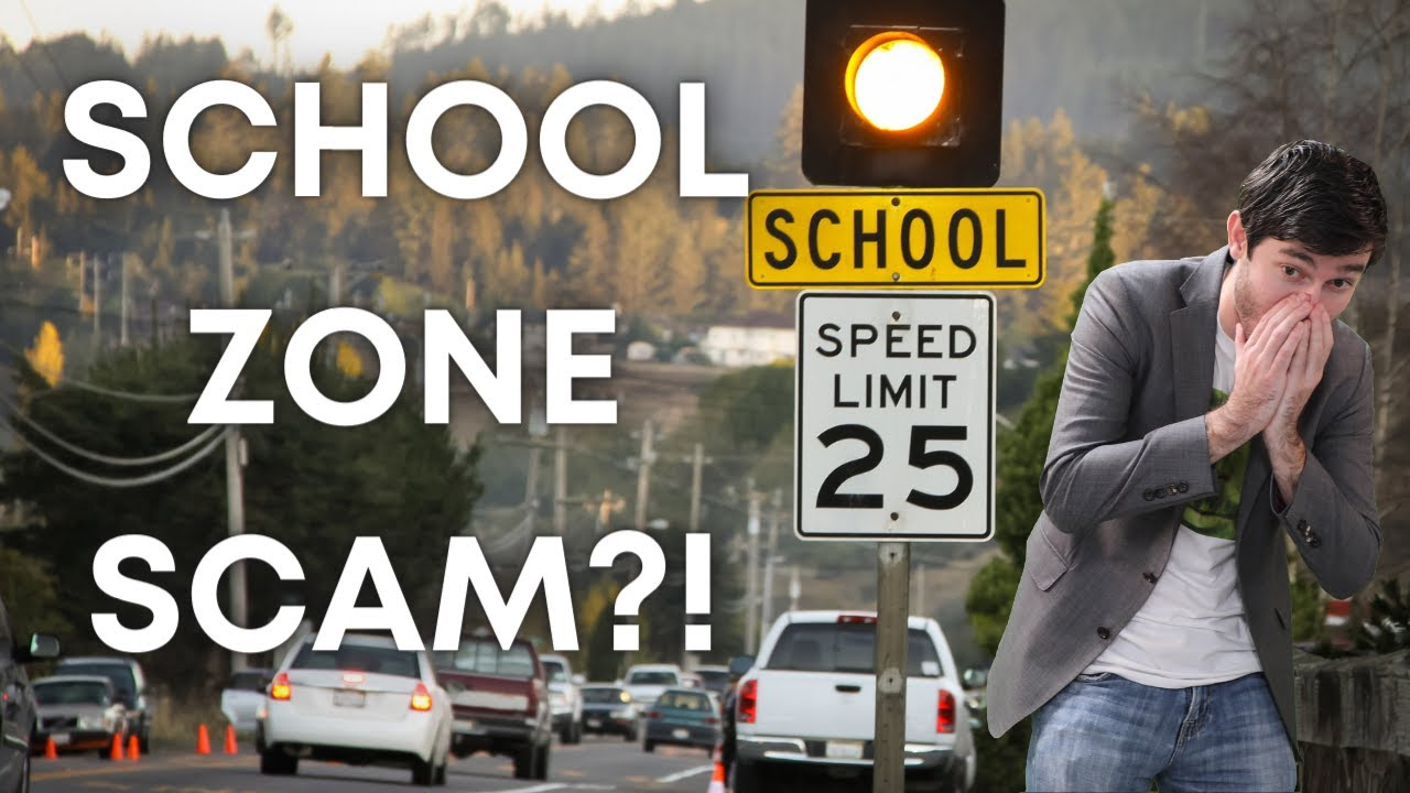 IS THIS SCHOOL ZONE AN ILLEGAL PROFIT GENERATING SCAM?