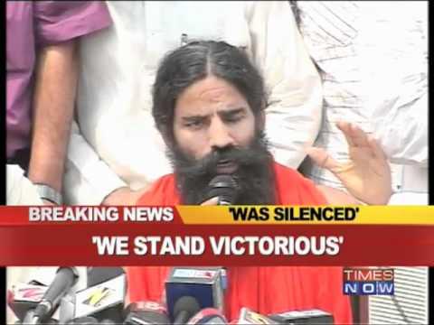 Fight against corruption was silenced: Ramdev