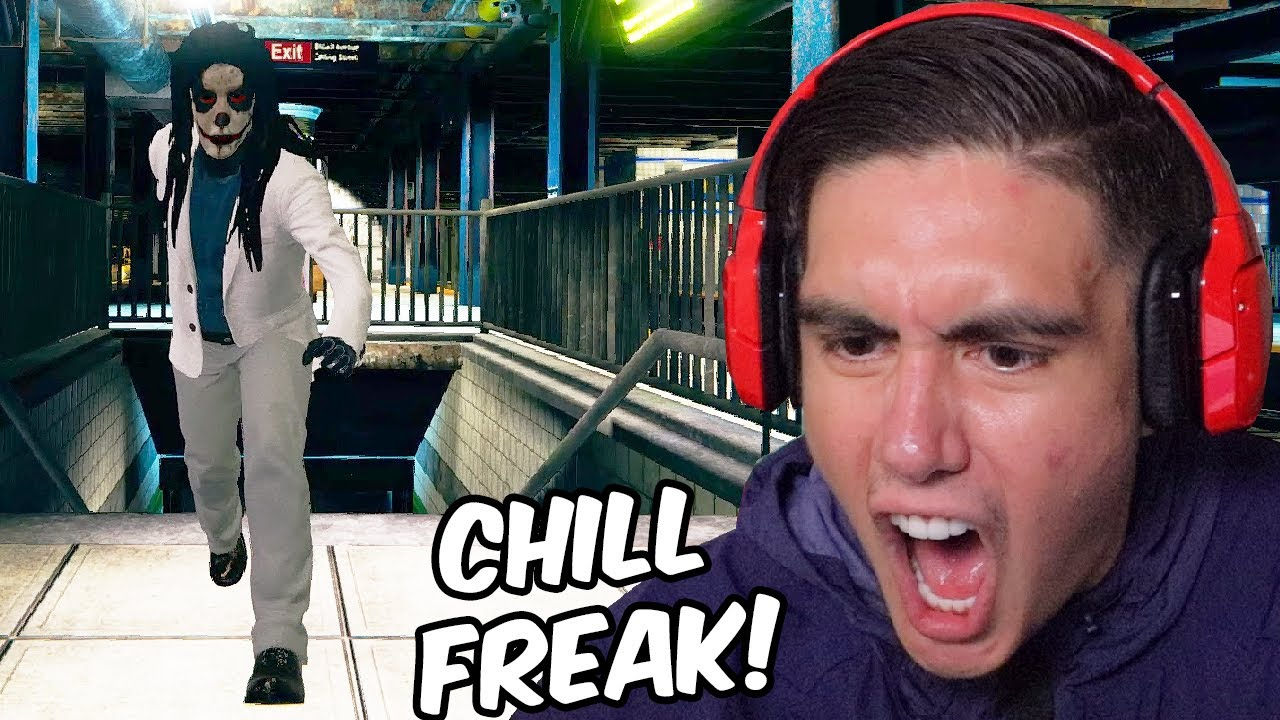YOU'RE TRYING TO TAKE THE TRAIN HOME BUT THIS DUDE GETS FREAKY ON A FRIDAY NIGHT | Free Random Games