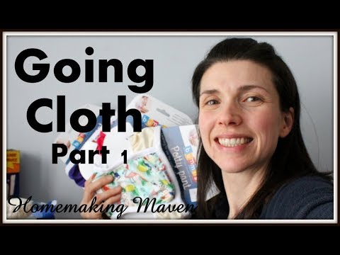 HUGE Diaper HAUL! | Cloth Diapers Part 1 |  Homemaking Maven