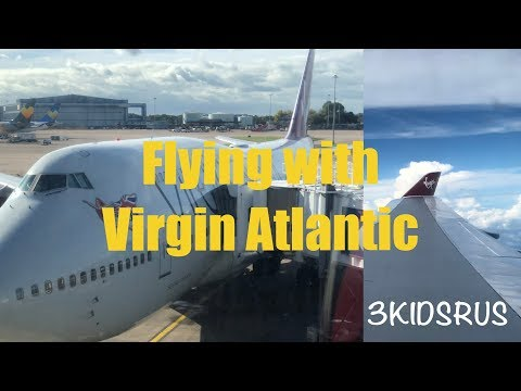 Flying with Virgin Atlantic, Orlando from Manchester